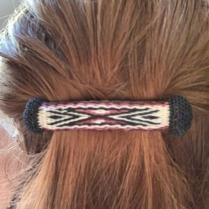 Handmade horsehair hair clip